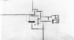1-9 煉瓦造田園住宅案 平面図