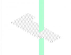 11 Barcelona Pavilion: isometric