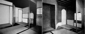 8 有楽の『如庵』(左)と光琳の茶室(右)